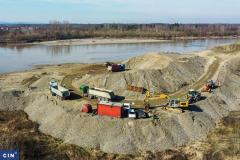 Promised Land for Illegal Gravel Extractors
