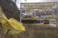 The King of Poisons leaking from the Mostar landfill