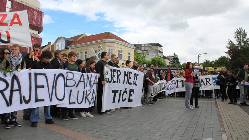Skup gradjana u Prijedoru