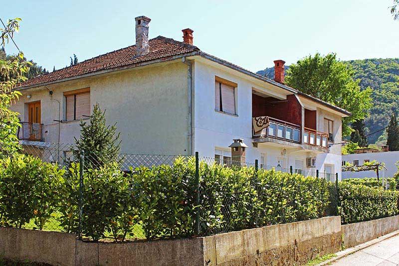 Kuća pokojnog Frane Čovića u Mostaru
