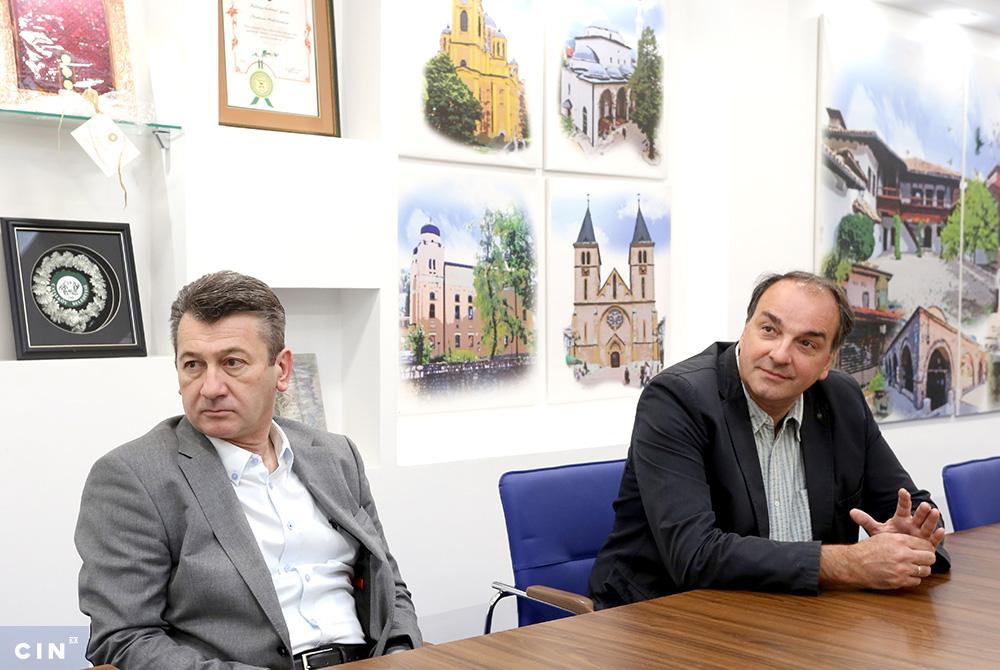 Ibrahim Hadzibajric Nermin Pecanac