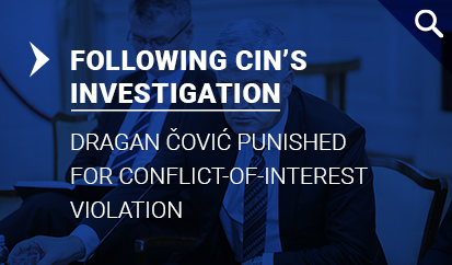 Dragan Čović punished for conflict-of-interest violation