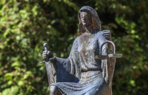 Iustitia, the Goddess of Justice